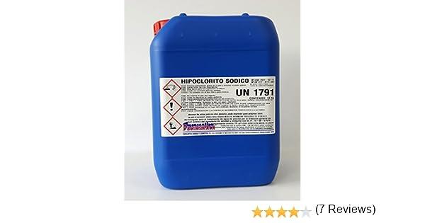 Fuensantica Hipoclorito Sódico/Cloro Liquido 14% 12 Kg.: Amazon.es ...
