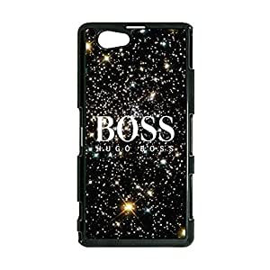 Hugo Boss Logo Universal Smartphone Case for Sony Xperia Z1,Luxury Fashoin Hugo Boss Logo Series Delicate Moulded Case Cover