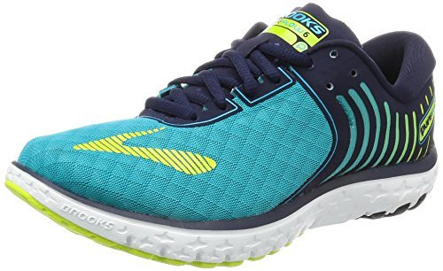 Brooks Pureflow 6, Zapatillas de Gimnasia para Mujer Azul (Bluebird/peacoat/lime Punch)