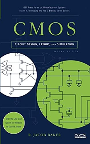 cmos circuit design, layout, and simulation, second edition rcmos circuit design, layout, and simulation, second edition 2nd edition