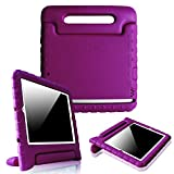 Fintie iPad mini 1/2/3 Kiddie Case - Light Weight Shock Proof Convertible Handle Stand Kids Friendly for Apple iPad mini 1 / iPad mini 2 / iPad mini 3, Purple
