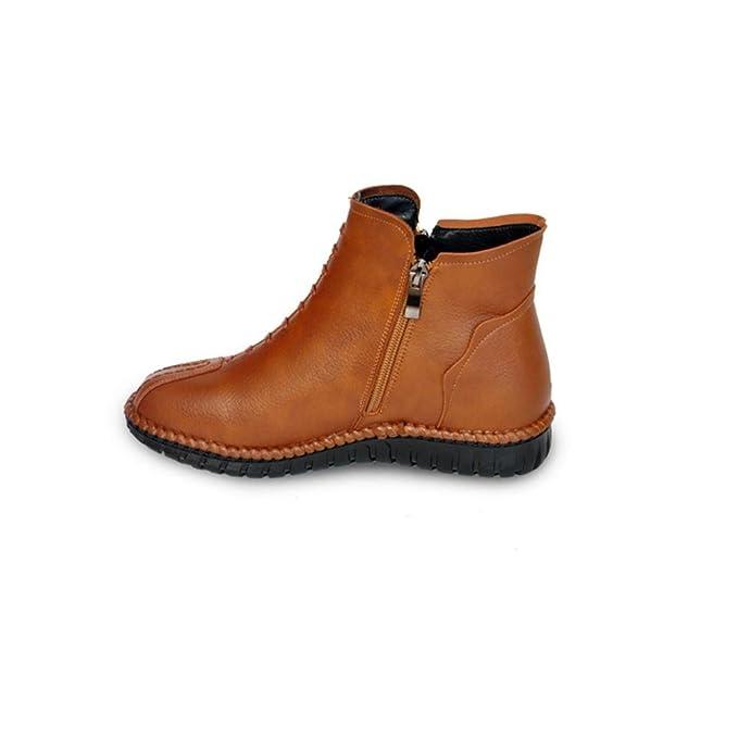 Bottom Soft Chengren Courtes Bottes Chaussures qOPUSX