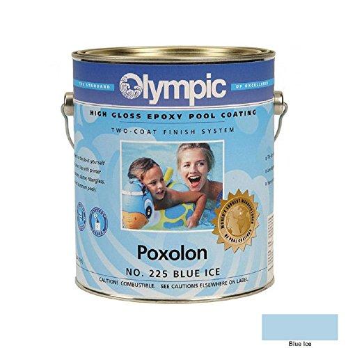 - Kelley Technical 2225GL Olympic Poxolon 2 Epoxy Pool Coating - Blue Ice
