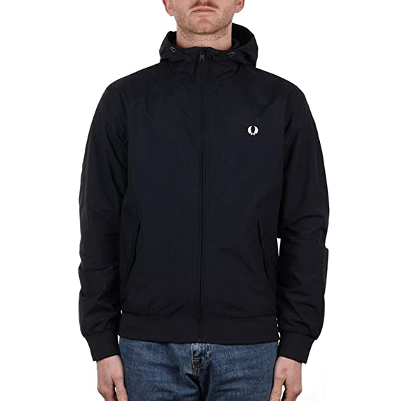 6ff68b5c1 Fred Perry Men s Hooded Brentham Jacket