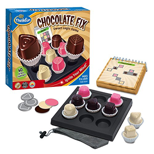 Think Fun Chocolate Fix - Award Winning Logic Game and STEM Toy For Age 8 and Up