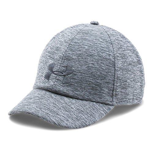 Under Armour Women's Renegade Twist Cap, True Gray Heather/True Gray Heather, One Size Under Hat Clothing
