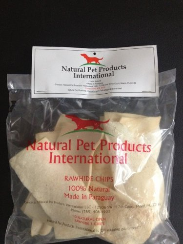 Natural Rawhide Chips (white) Review