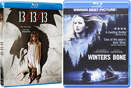 13/13/13 + Winter's Bone [Blu-ray] Horror Thriller Movie Set