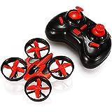 Eachine E010; Mini 2.4G 4CH 6 Axis Headless Mode RC Drone Quadcopter RTF (red)