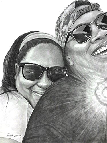 Custom pencil portrait drawing commission family by Lynne Leavitt Portraits