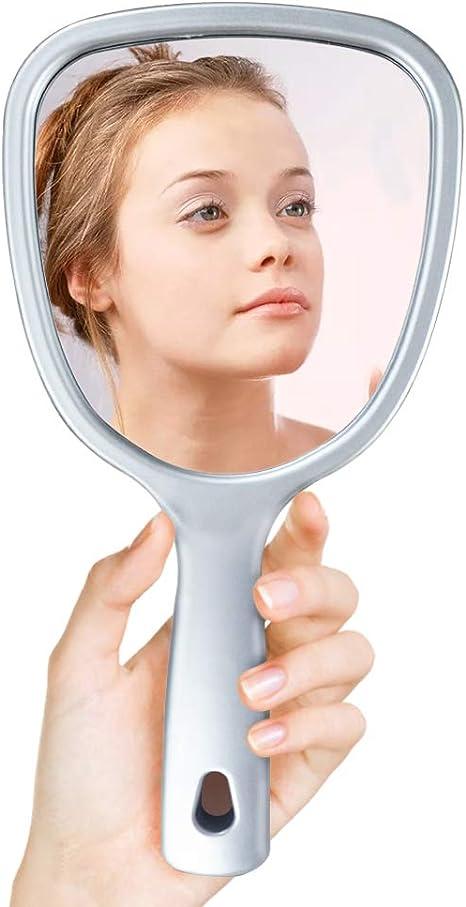 MISS YOU 2-in-1 Miroir de Maquillage Soins de la Peau avec r/éfrig/érateur Cooler LED Compact Portable for Chambre Bureau Dorm Car Id/éal Soins et cosm/étiques Peau
