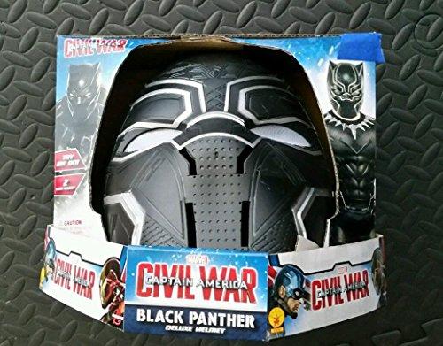 [Captain America Civil War Black Panther Helmet] (Black Panther Civil War Costume)