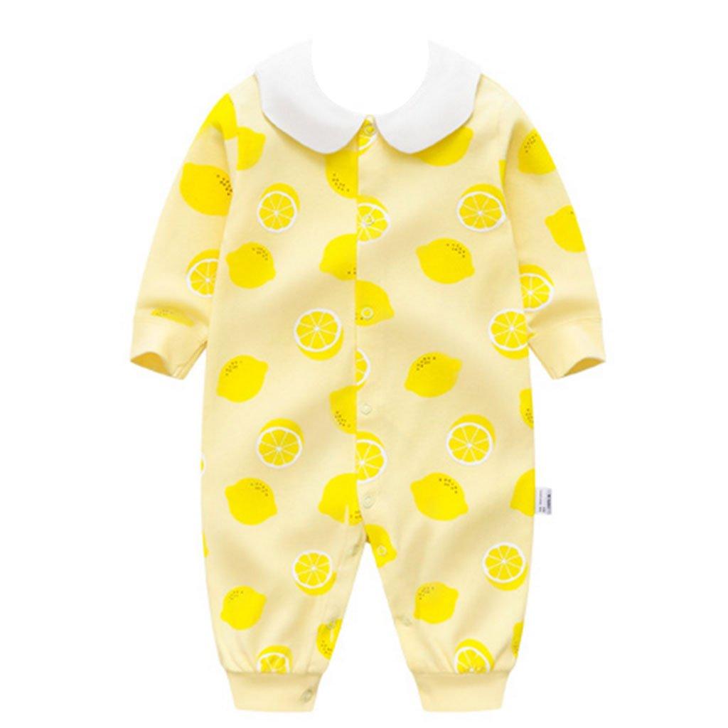 Recién Nacido Bebés Rompers Mameluco, Bebé Bodysuits Dormir Rompers Mono Bebé Pijama Pelele, 0-3 Meses Vine Trading Co. Ltd G171215PF00113V