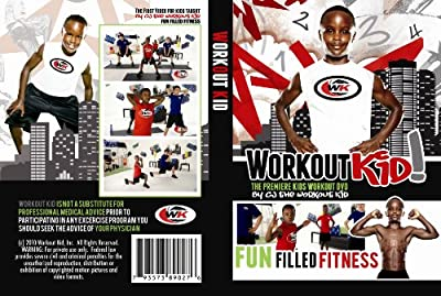 Workout Kid Fitness DVD by Workout Kid, Inc.