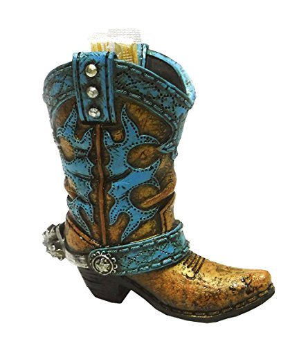 Western Cowboy Boot Toothpick Holder - Rustic Party - Wine Boot Cowboy