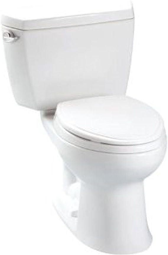 Toto Cst744e 01 Drake Two Piece Toilet 12 Inch Cotton White Two Piece Toilets Amazon Com