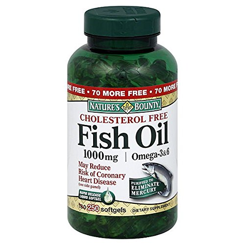 Nature's Bounty Fish Oil, 1000 Mg 250 Softgels by Nature's Bounty