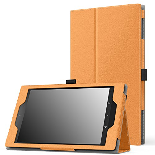 MoKo Case for Fire HD 8 2015 [Previous 5th Gen ONLY] - Slim Folding Cover with Auto Wake/Sleep for Amazon Kindle Fire HD 8