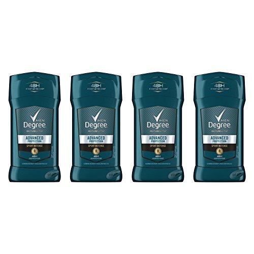 Degree Men Advanced Protection Antiperspirant Deodorant, Sport Defense, 2.7 oz, Pack of 4