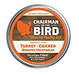 Chairman of the Bird Gourmet Seasoning Rub for Poultry & Veggies - Gluten Free, Very Low Salt & No MSG 2oz
