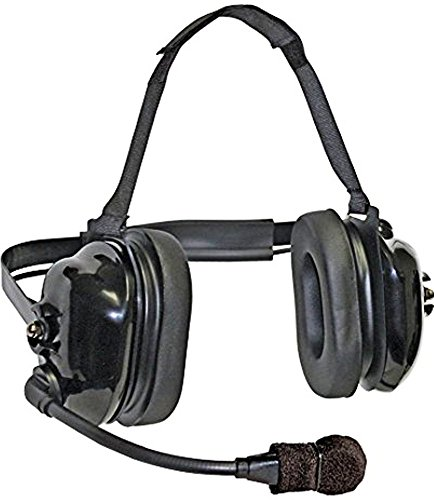 - Klein Electronics TITAN-FLEX Titan FlexBoom Headset; Extreme High-Noise, Dual-Muff Headset with FlexBoom Microphone, Foam Pads and Black earshells; Universal 5-pin cable connector plus scanner/ipod po