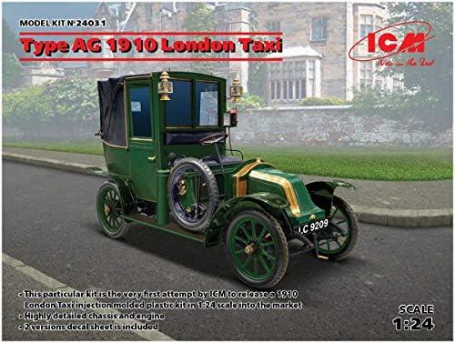 ICM 1/24 ルノー タイプAG 1910年 ロンドンタクシー プラモデル 24031