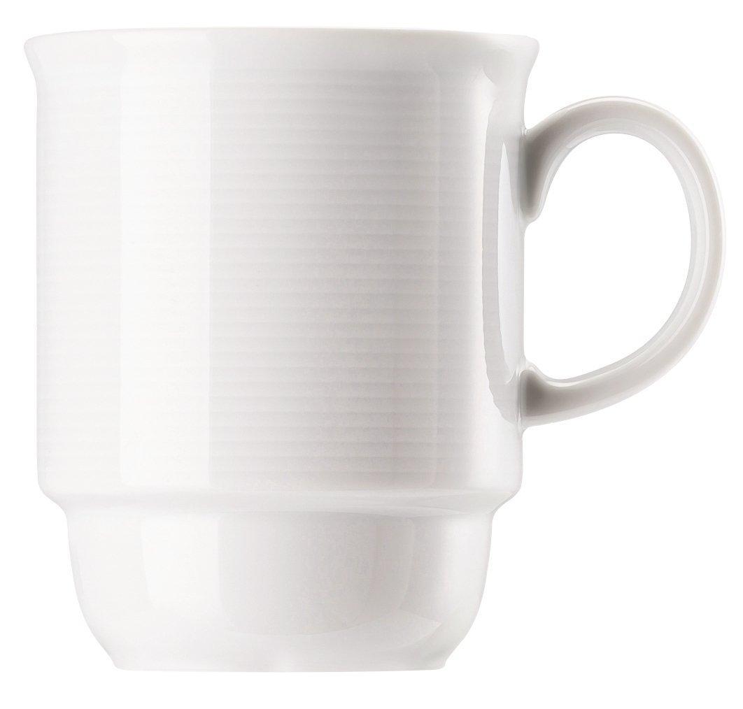 2 x Becher mit Henkel groß Thomas Trend Weiß Kaffee Tasse 15571-0,36 l