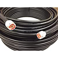 30ft N Male to N Male LMR400 Times Microwave Coax Antenna Cable