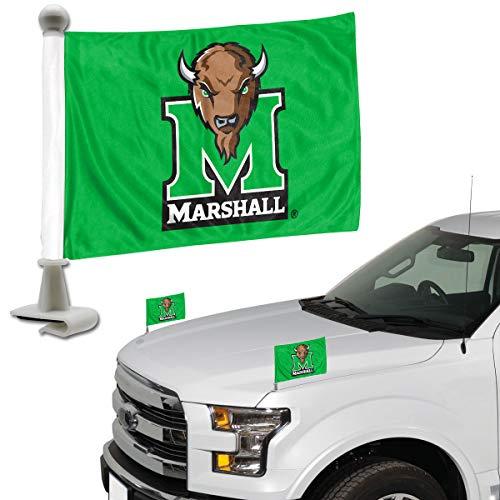 NCAA Marshall Thundering Herd Ambassador Flag, 2-PackAmbassador Flag, 2-Pack, Team Color, 3.5