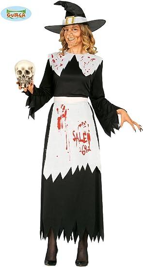 Disfraz de bruja de Salem adulta: Amazon.es: Juguetes y juegos