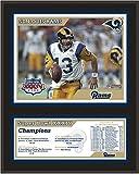 "St. Louis Rams 12"" x 15"" Sublimated Plaque - Super Bowl XXXIV - Fanatics Authentic Certified - NFL Team Plaques and Collages"