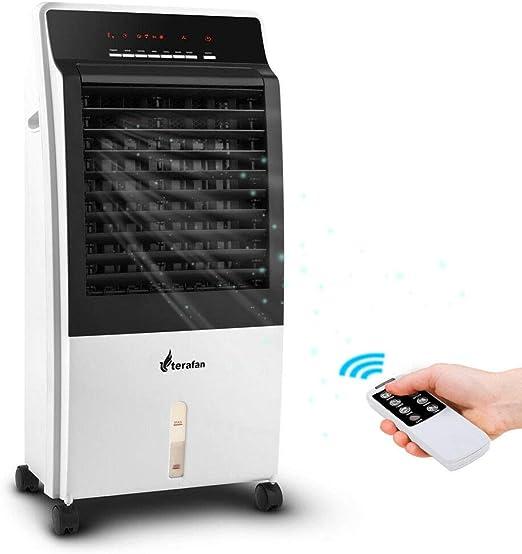 Bakaji 2830555 - Refrigerador ventilador humidificador de agua con ...