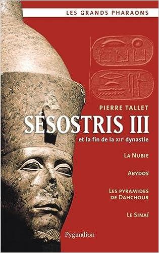 Sésostris III et la fin de la XIIe dynastie - Pierre Tallet sur Bookys