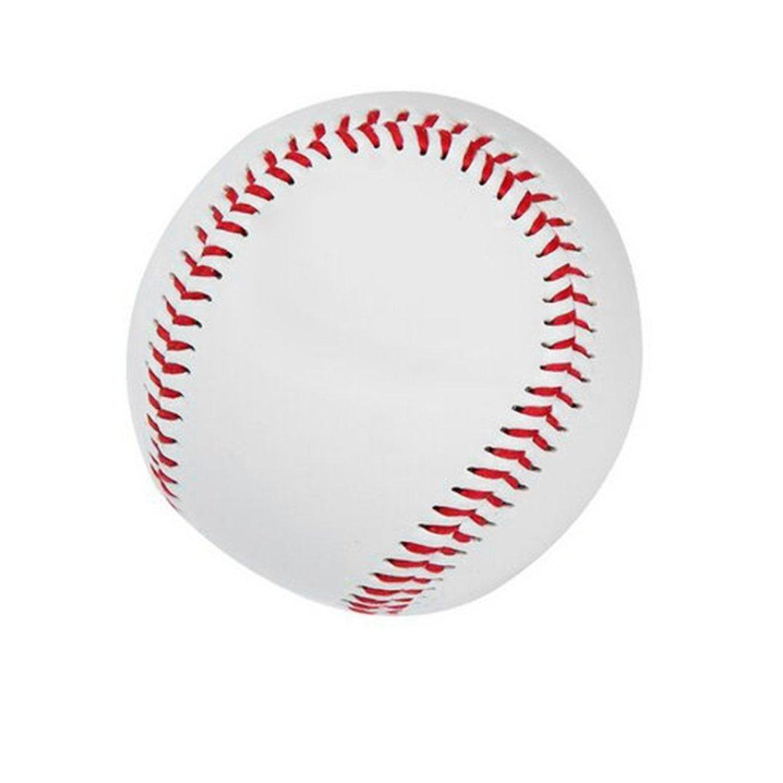 iUcar Universal 9# Harte Art Kinder Sport PVC Oberen Gummi Inneren Baseballbälle Baseball Training Ball-Weiß
