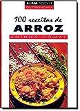 capa de 100 Receitas De Arroz - Coleção L&PM Pocket: 335