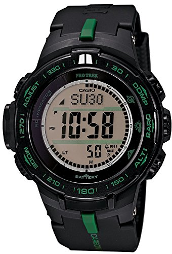 CASIO watches PROTREK RM Series Triple Sensor Ver.3 equipped with the world six stations corresponding Solar radio PRW-S3100-1JF Men