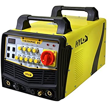 HYL TIG200P AC-DC ANALOG TIG Welder - COMPARE TO MILLER WELDERS, HOBART WELDERS, LINCOLN WELDERS AT 5X THE PRICE - 2YR USA WARRANTY WITH USA BASED PARTS AND SERVICE …