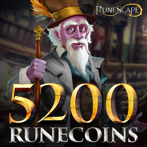5200 RuneCoins: RuneScape [Instant Access] by Jagex Games Studio