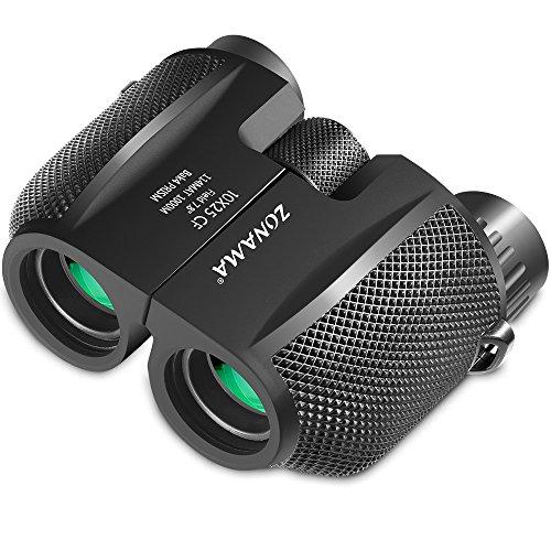 Binoculars for Adults, Compact Telescope High Power Binocular 10x25 Large...