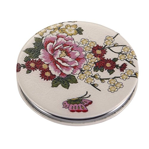 JOE COOL Compact Mirror Flight Of Butterfly (Pink & Yellow) Made With - Mirror Keychain Compact