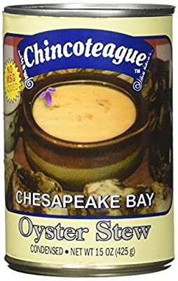 Chincoteague Seafood Oyster Stew, 15 Ounce