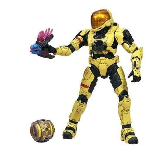 HALO 3 Series 5 Exclusive Spartan Soldier EVA (Pale Yellow) Action -