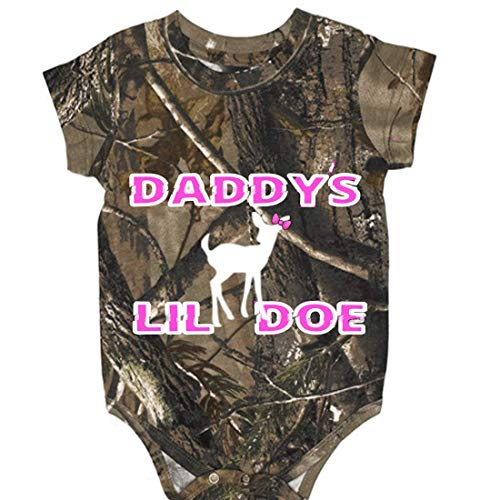 o Daddy's Lil Doe Onesie Baby Clothing (6 Month) ()