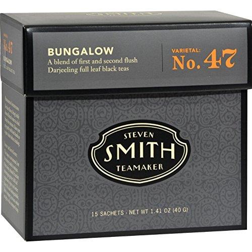 Smith Tea, Bungalow Darjeeling, Organic, 15-Count