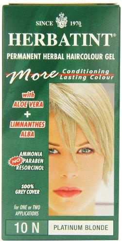 Herbatint Hair Dye 10N Platinum by Herbatint