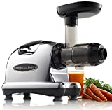 Omega J8006 Nutrition Center Quiet Dual-Stage Slow Speed Masticating Juicer...