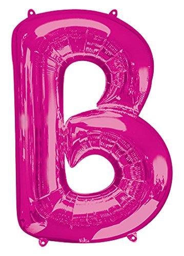 34 Anagram 35404 Letter B Pink Foil Balloon