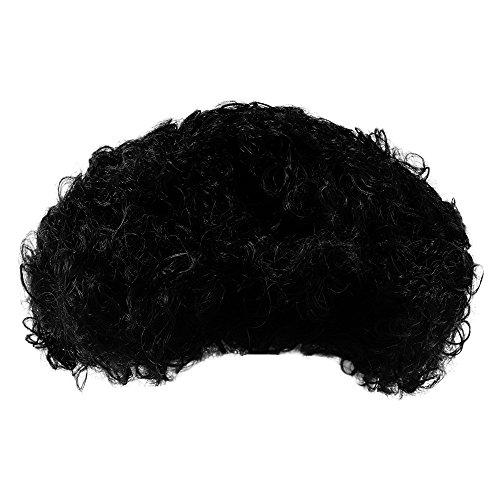 Black (Disco Afro Wig In Black)