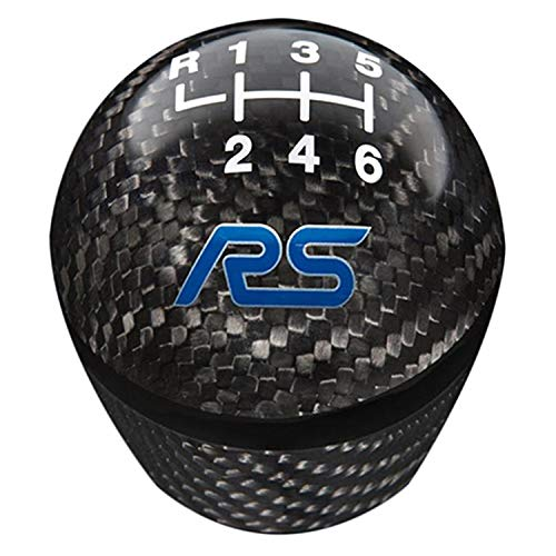 FOCUS RS SHIFT KNOB-CARBON FIBER, 6 SPEED