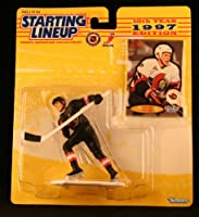 DANIEL ALFREDSSON / OTTAWA SENATORS 1997 NHL Starting Lineup Action Figure & Exclusive FLEER '96/'97 Collector Trading Card